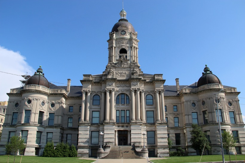 evansville vanderburgh county indiana courthouse