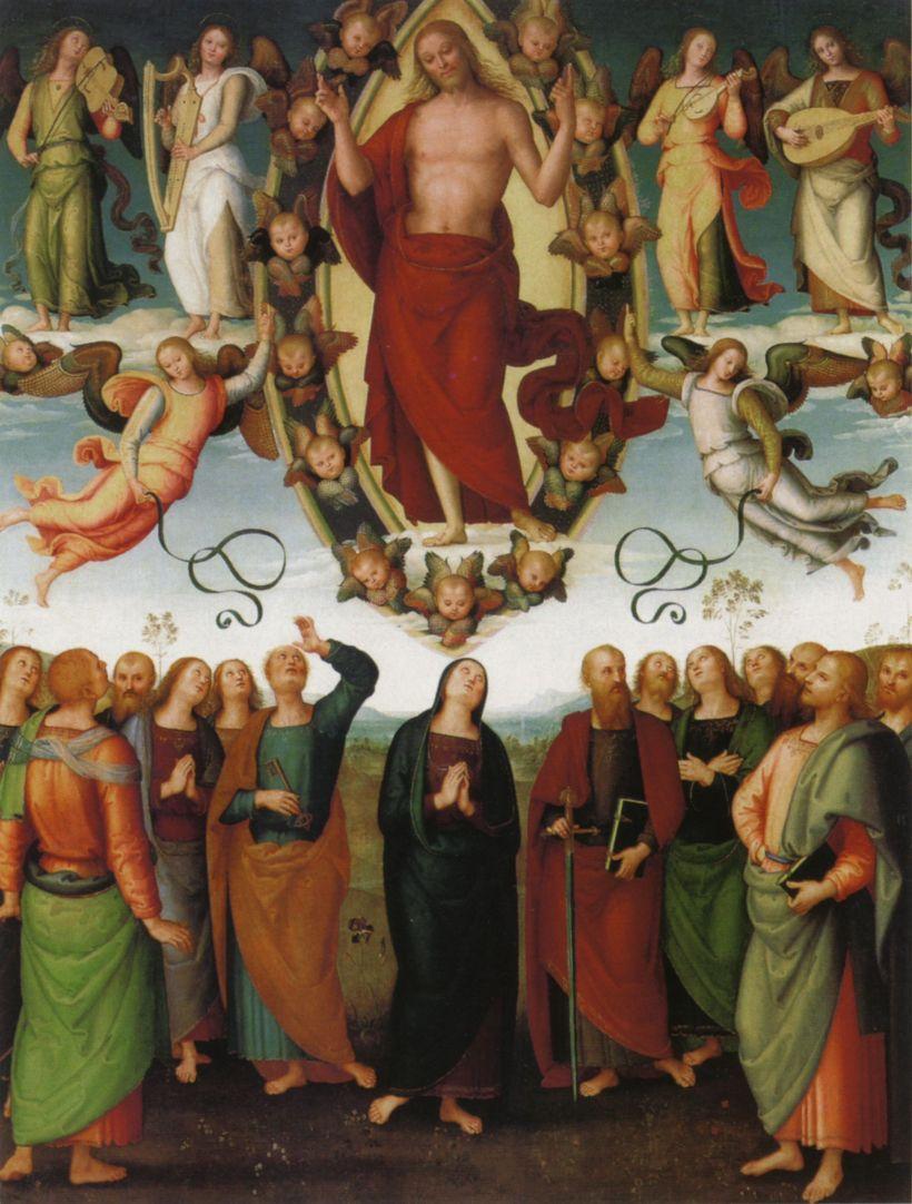 Pietro Perugino Ascension