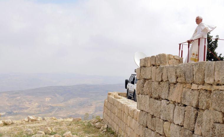 Pope Benedict Mount Nebo
