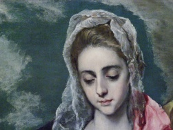 El Greco Virgin Mary