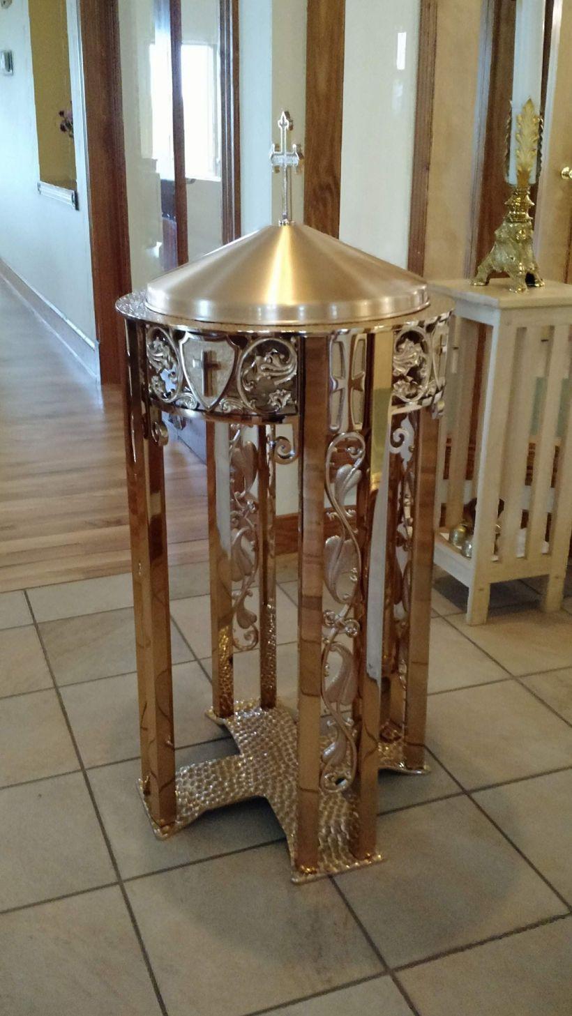 francis assisi rocky mount baptismal font