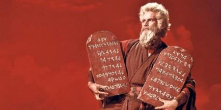 Charlton Heston Ten Commandments Moses