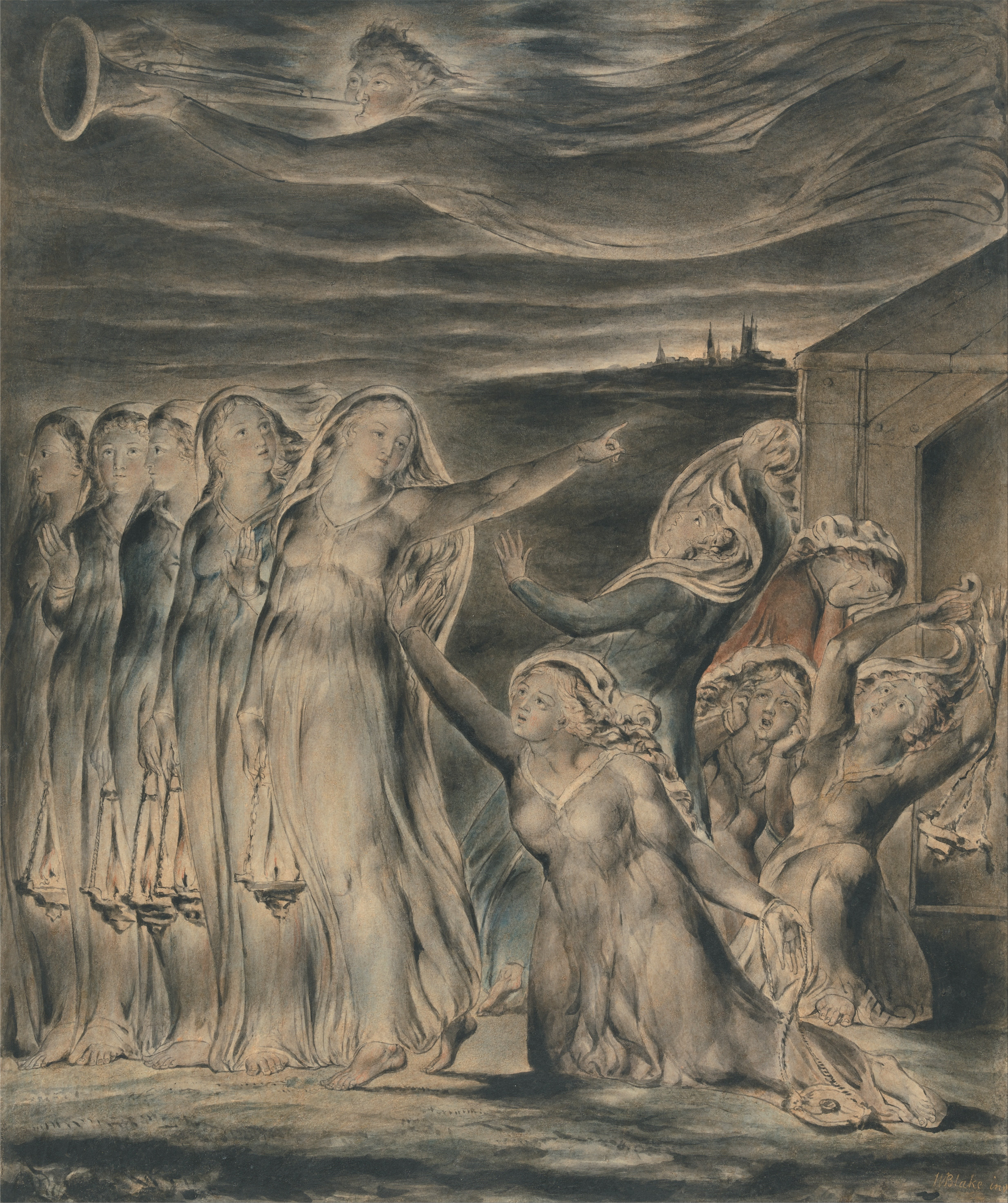 William_Blake_-_The_Parable_of_the_Wise_and_Foolish_Virgins
