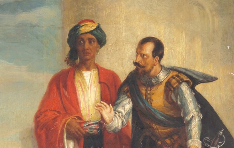 Othello and Iago by Solomon Alexander Hart