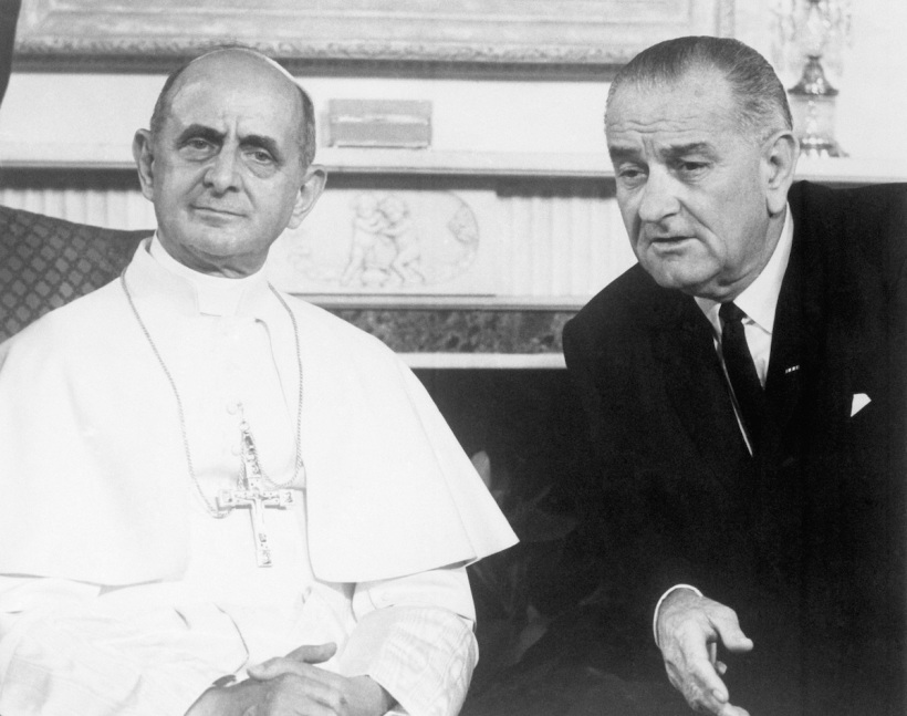 Le Pape Paul VI A New York