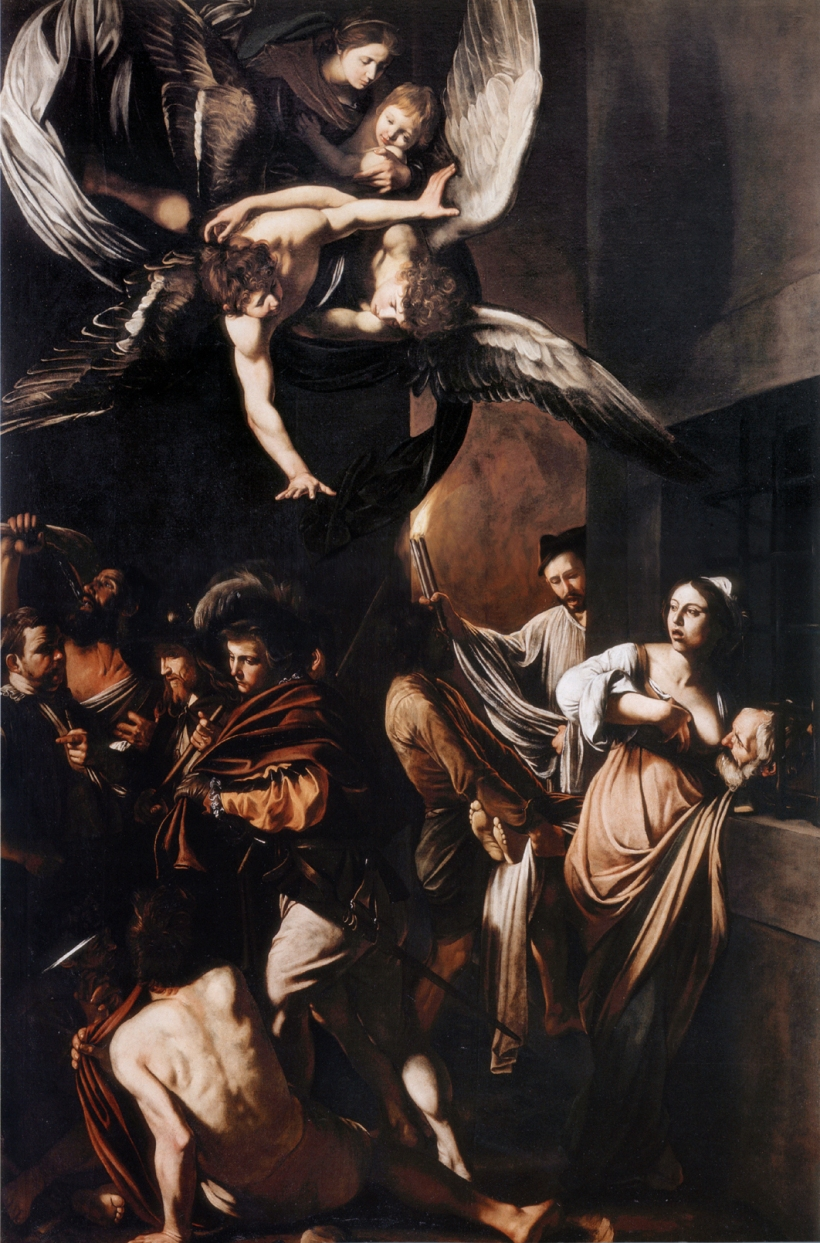 Caravaggio Seven Works of Mercy