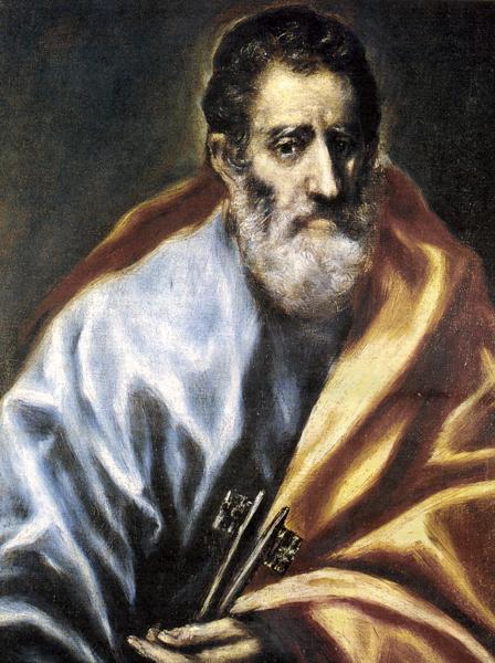 El Greco St Peter keys