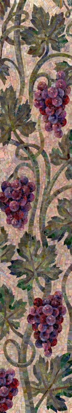 grape vine mosaic