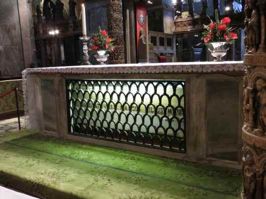 St Mark tomb