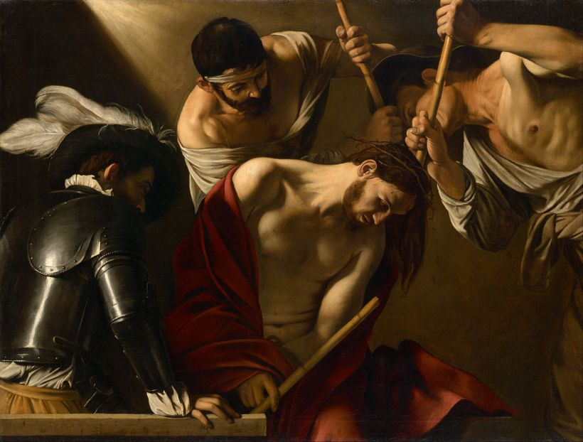 Caravaggio Crowning Thorns
