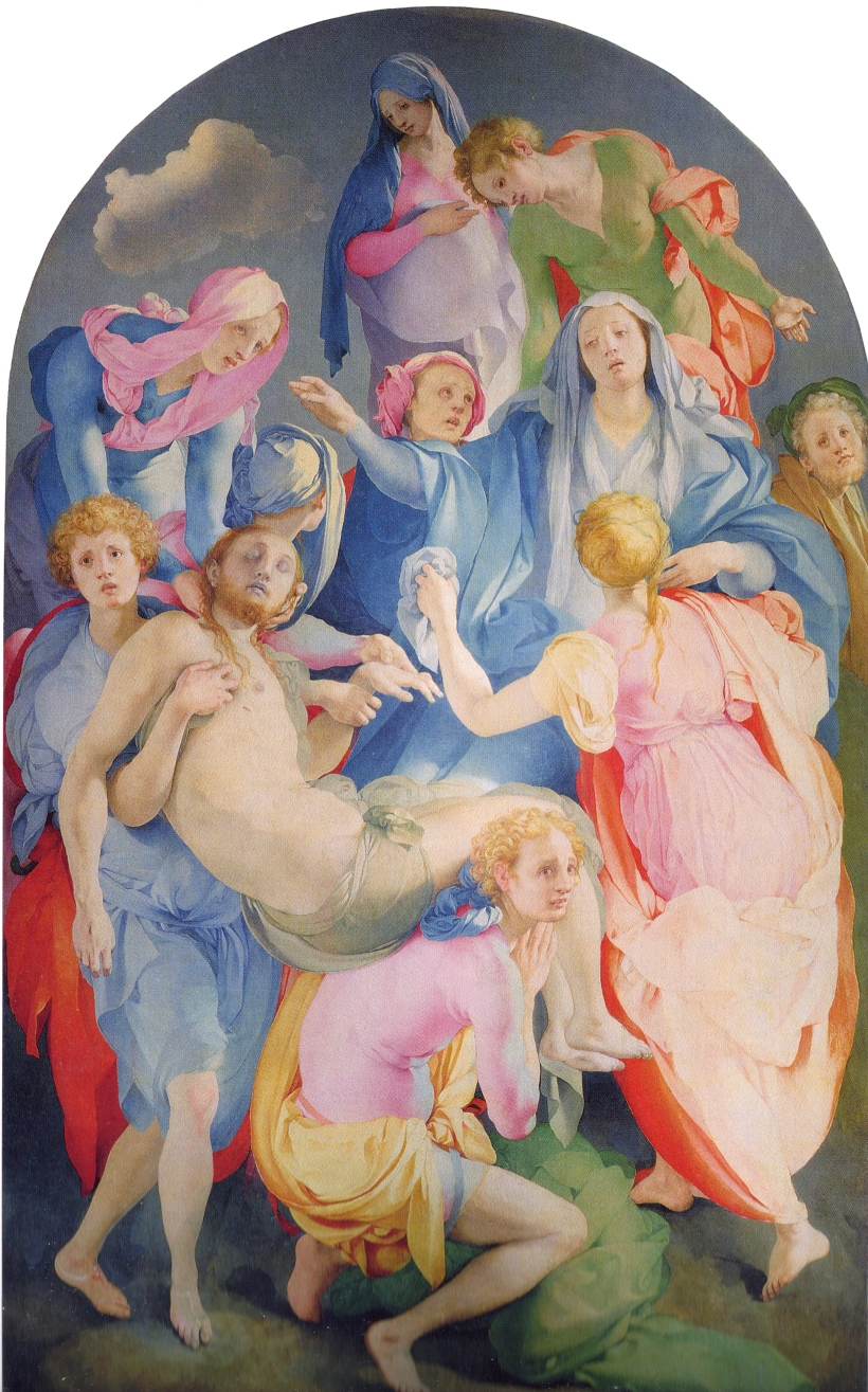 Jacopo Pontormo Deposition of Christ