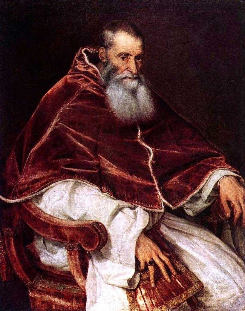 Pope Paul III Titian