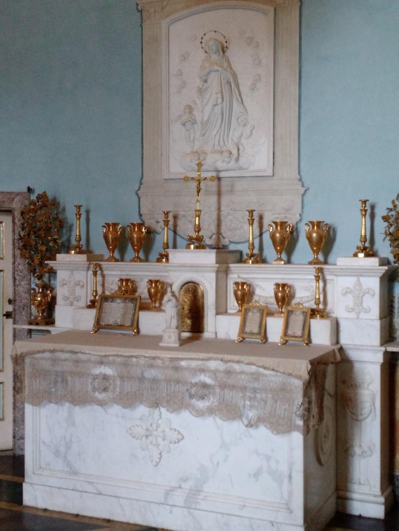 Pio Nono chapel Caserta