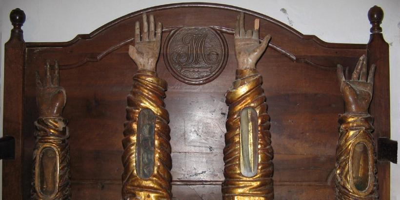 St. Thomas Aquinas arm Naples San Domenico Maggiore