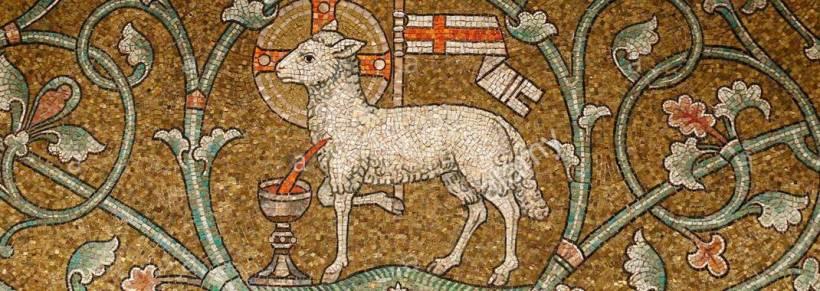 lamb of god dormition abbey jerusalem