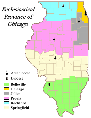 Ecclesiastical_Province_of_Chicago illinois dioceses