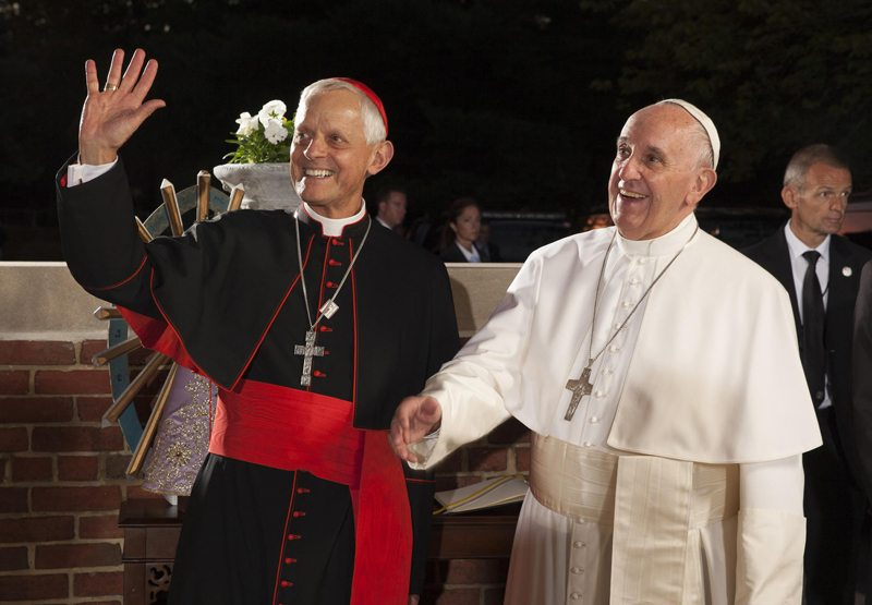 pope francis donald wuerl