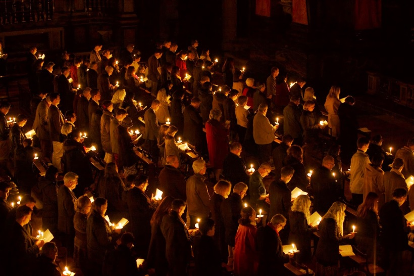 Easter Vigil London Oratory
