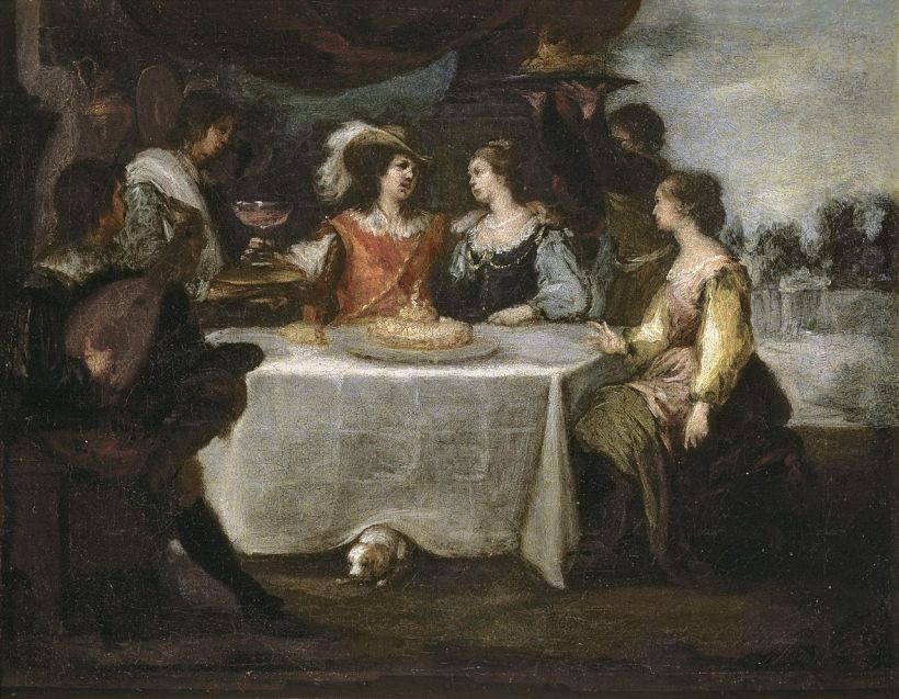 Murillo Prodigal Son Among Cortesans