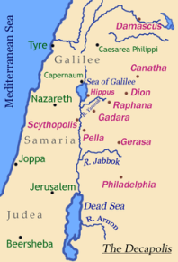 NT Holy Land map