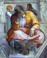 Jeremiah Sistine Chapel