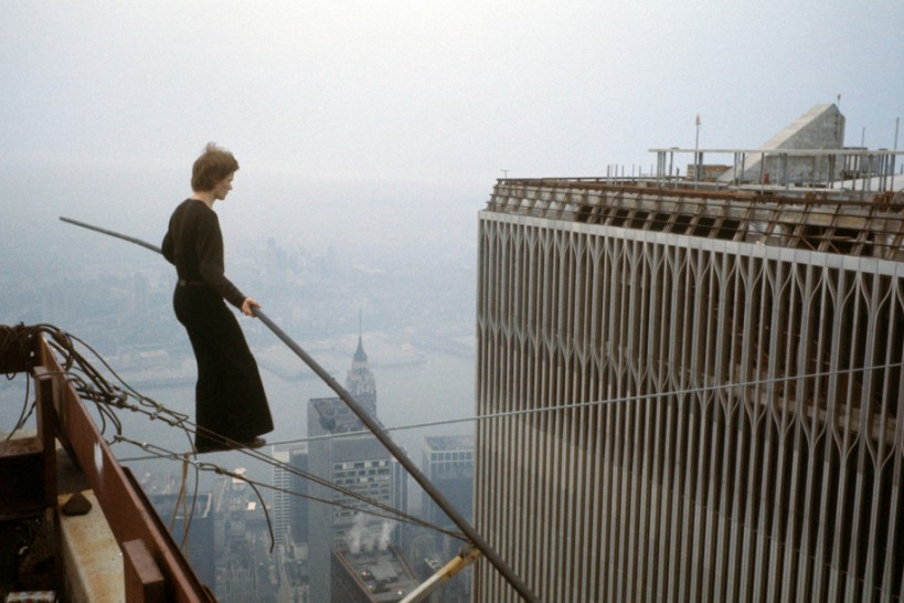 Philippe Petit WTC first step