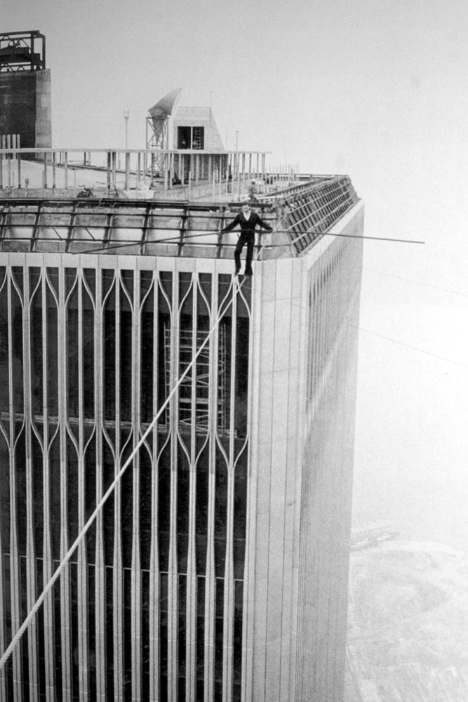Philippe Petit WTC tower
