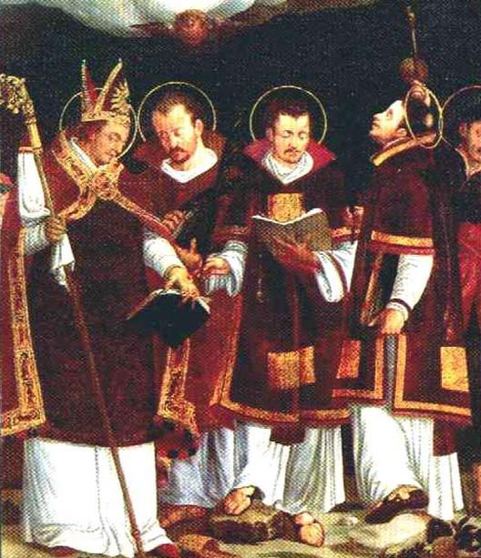 St Vigilius of Trent and companions