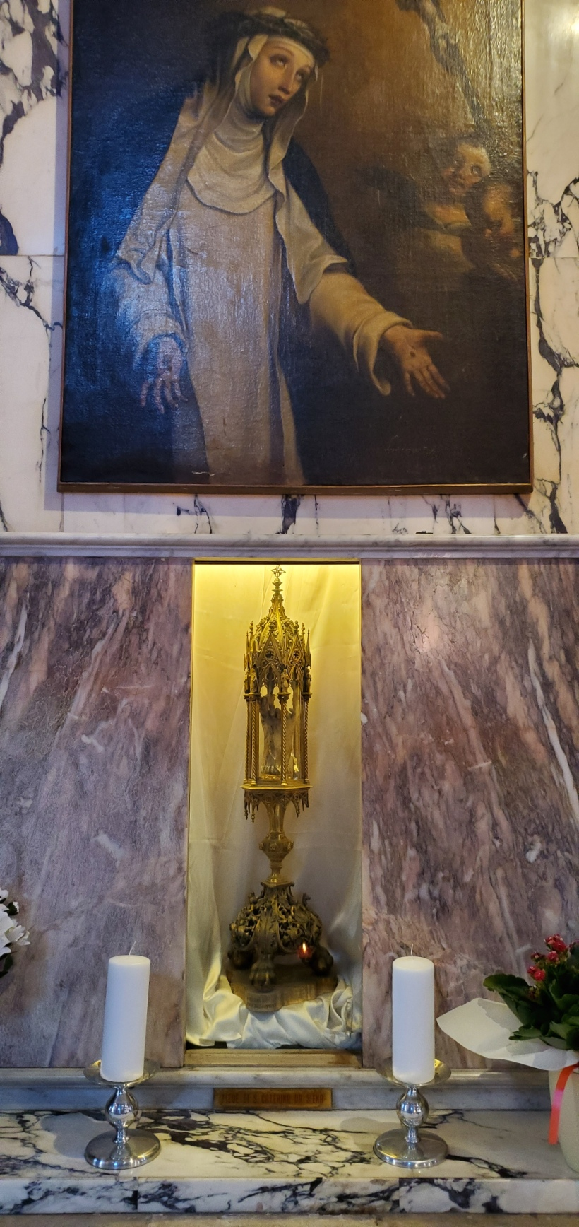 foot of St Catharine of Sienna, Saints John and Paul Venice