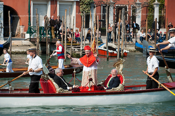 Francesco Moraglia Patriarch Of Venice Inaugurates His Mandate