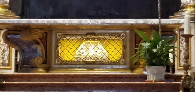 st vigilius relics