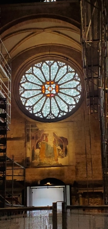 Trent Duomo nave rose window