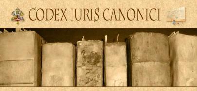 canon law codex canonici