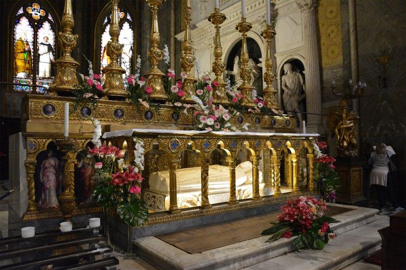 St Catherine of Siena tomb Sopra Minerva