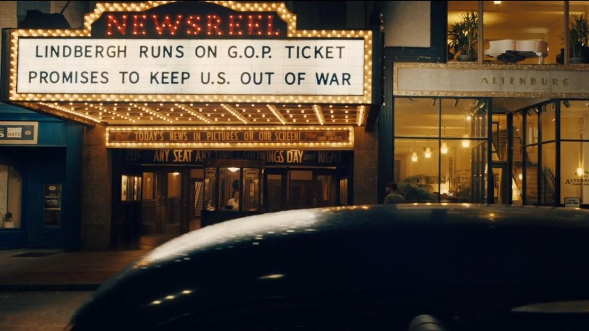 Plot Against America GOP Lindbergh marquee