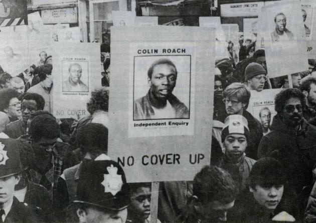 Colin Roach protest