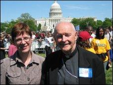 Washington Post photo of McC and Susan Gibbs