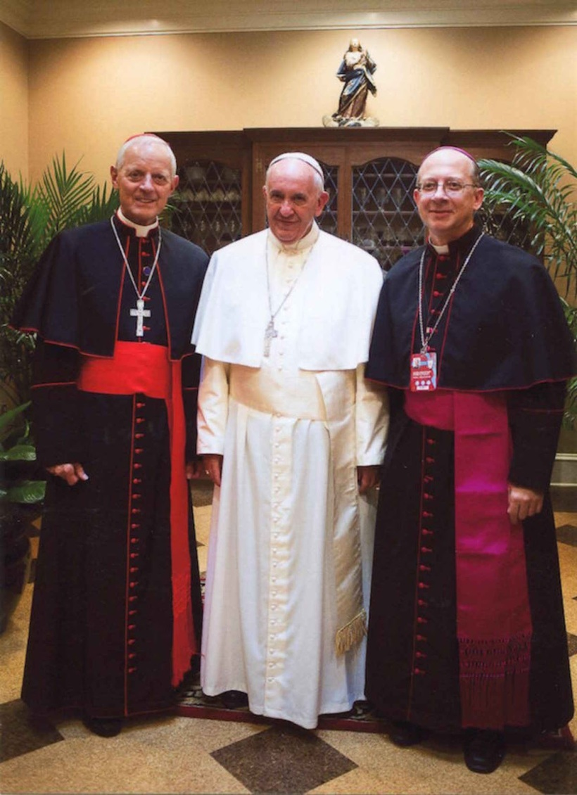 Wuerl Knestout Pope Francis