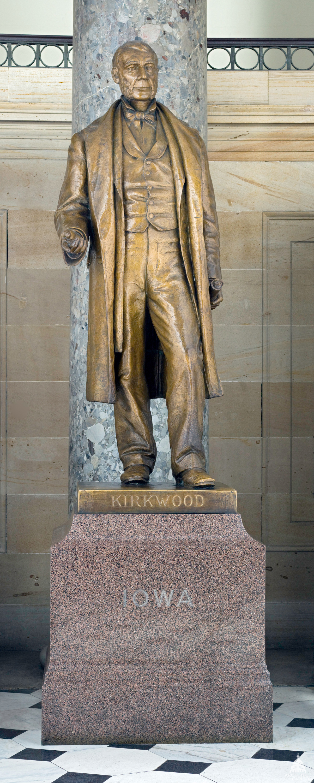 Samuel Kirkwood in Statuary Hall Capitol