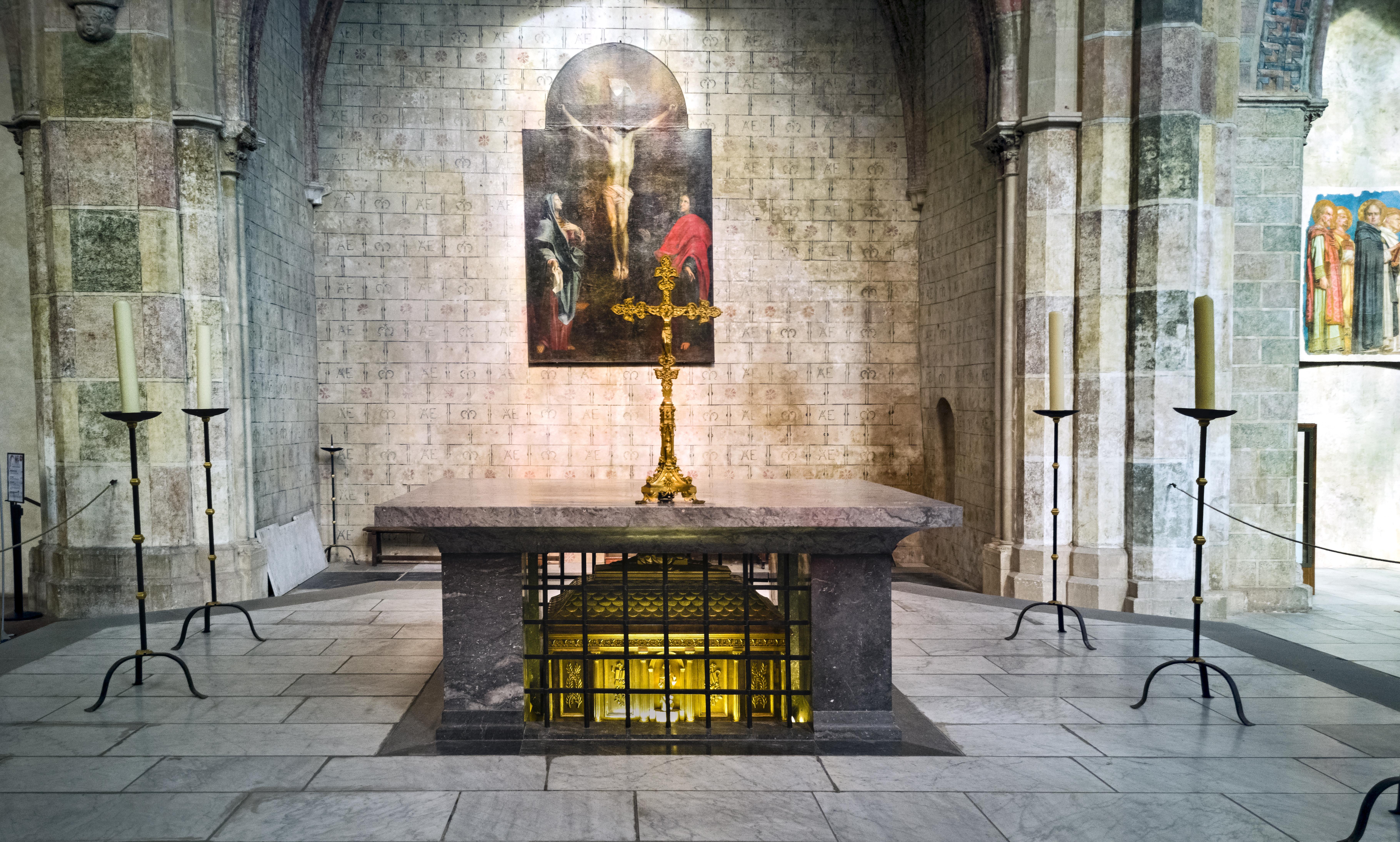 Couvent des Jacobins de Toulouse - Autel de St Thomas d'Aquin