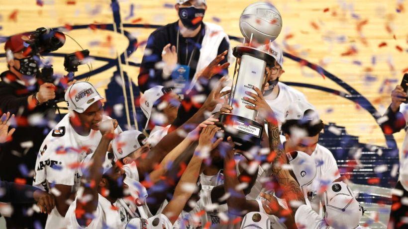 Georgetown Hoyas Big East tournament champions