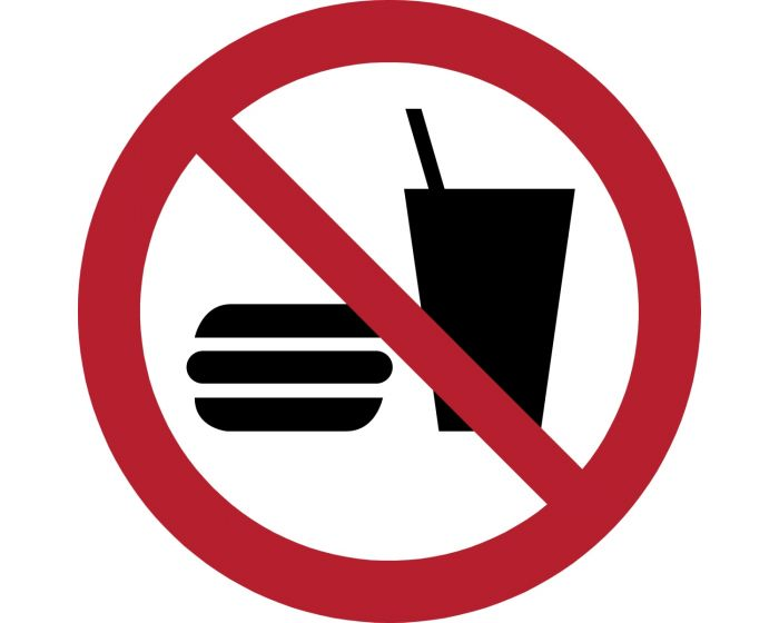 No eating