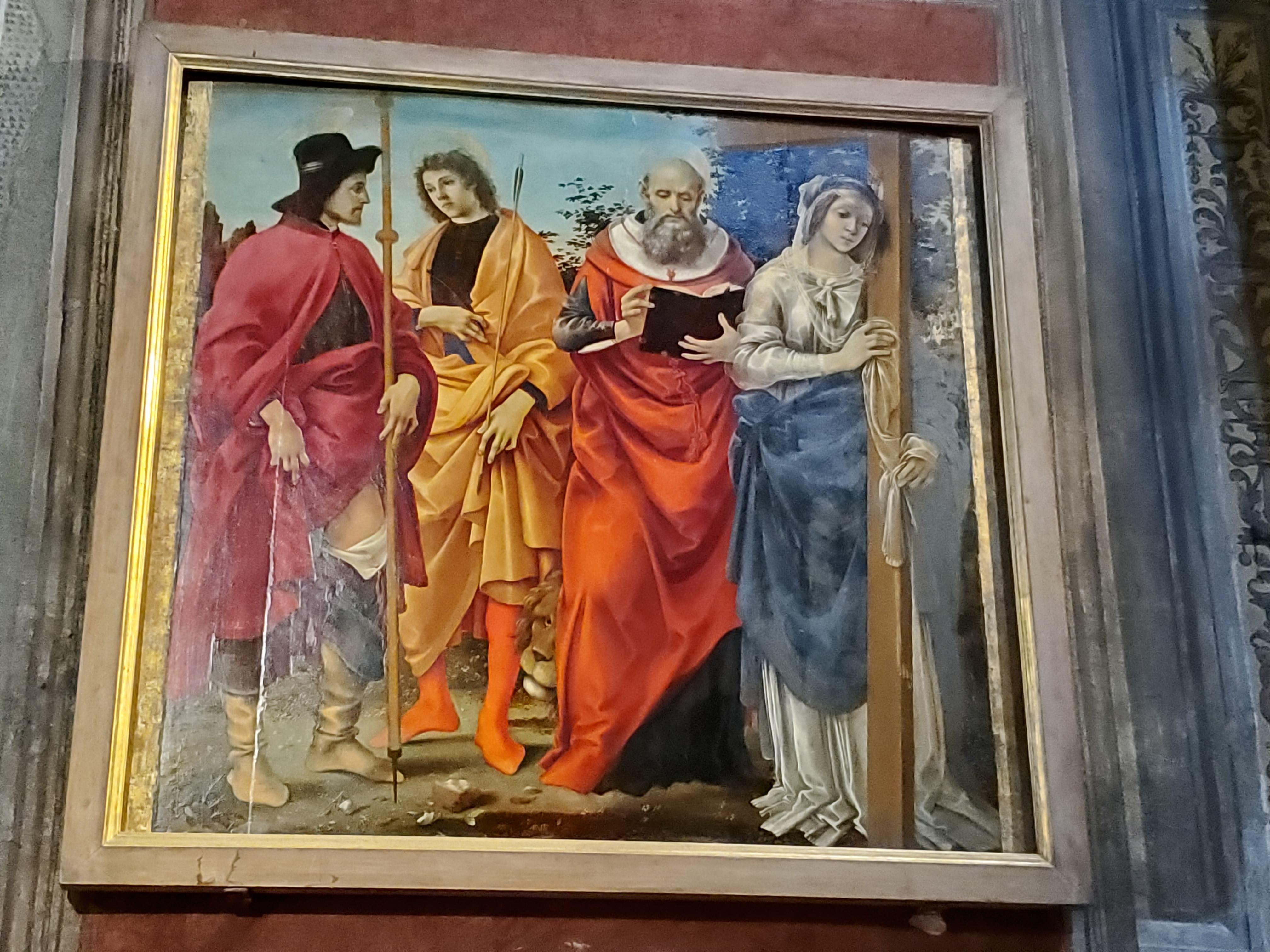 Filippino Lippi San Michele Lucca