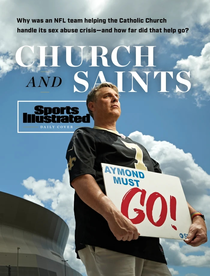 Kevin Bourgeois Sports Illustrated New Orleans Saints