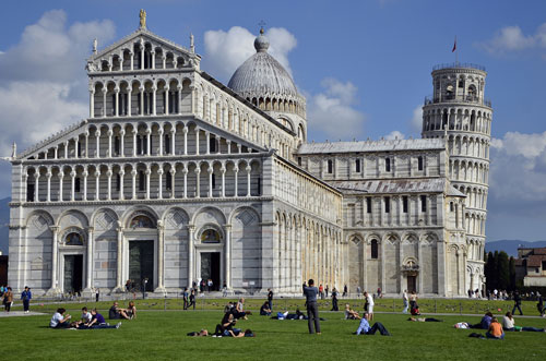 Pisa duomo and tower